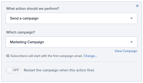 Add email subscriber to drip campaign