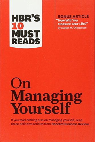 On Managing Yourself cover