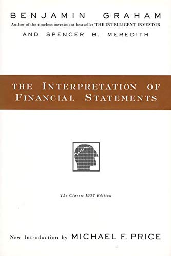 The Interpretation of Financial Statements cover