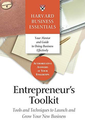 Entrepreneur's Toolkit cover