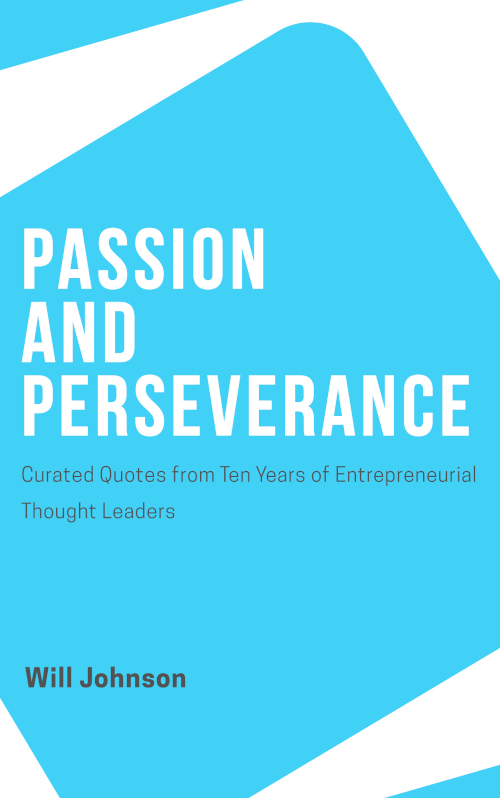 Passion and Perseverance Cover
